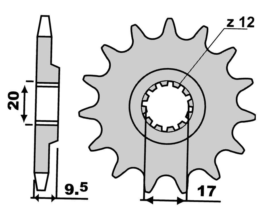 Pignoni Z12-0