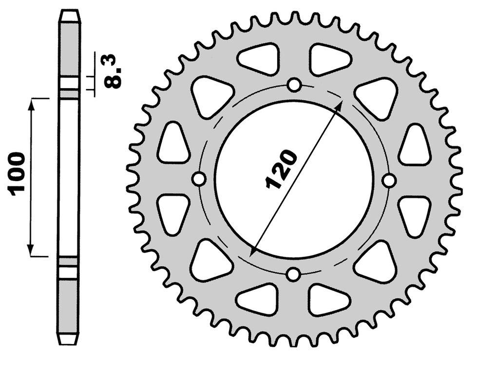Pinion spate Z51-0