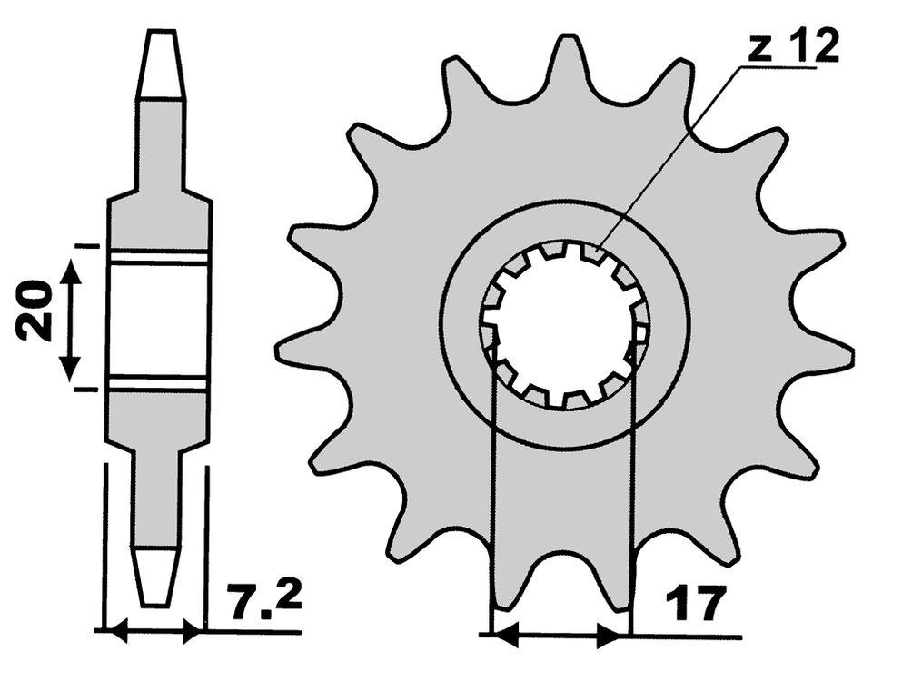 Pignoni Z14-0