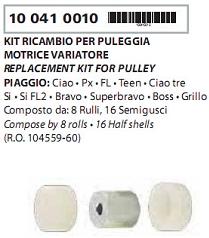 Role Variator Piaggio Ciao/Si/Bravo 8Buc.-3460