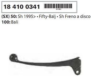 Maneta frana stanga Honda SH/Bali 50-100 cc-0