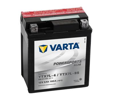 Baterie YTX7A-BS Varta acid inclus-0