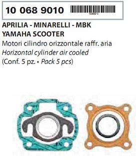 Garnituri Minarelli Orizontal Aer-0