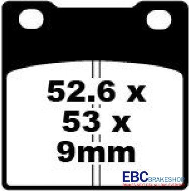 Placute Frana Suzuki GSF/GSX/GSXR/RF/RG-0