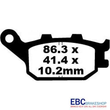 Placute Frana EBC Honda CB/CBR/CBF-0