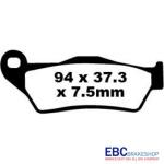 Placute frana KTM EXC/EGS/EXE/LC/MX/SX/XC/990 Adventure-0
