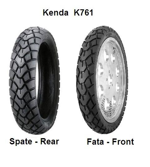 Anvelopa 130/90-15 Enduro Kenda k671-0