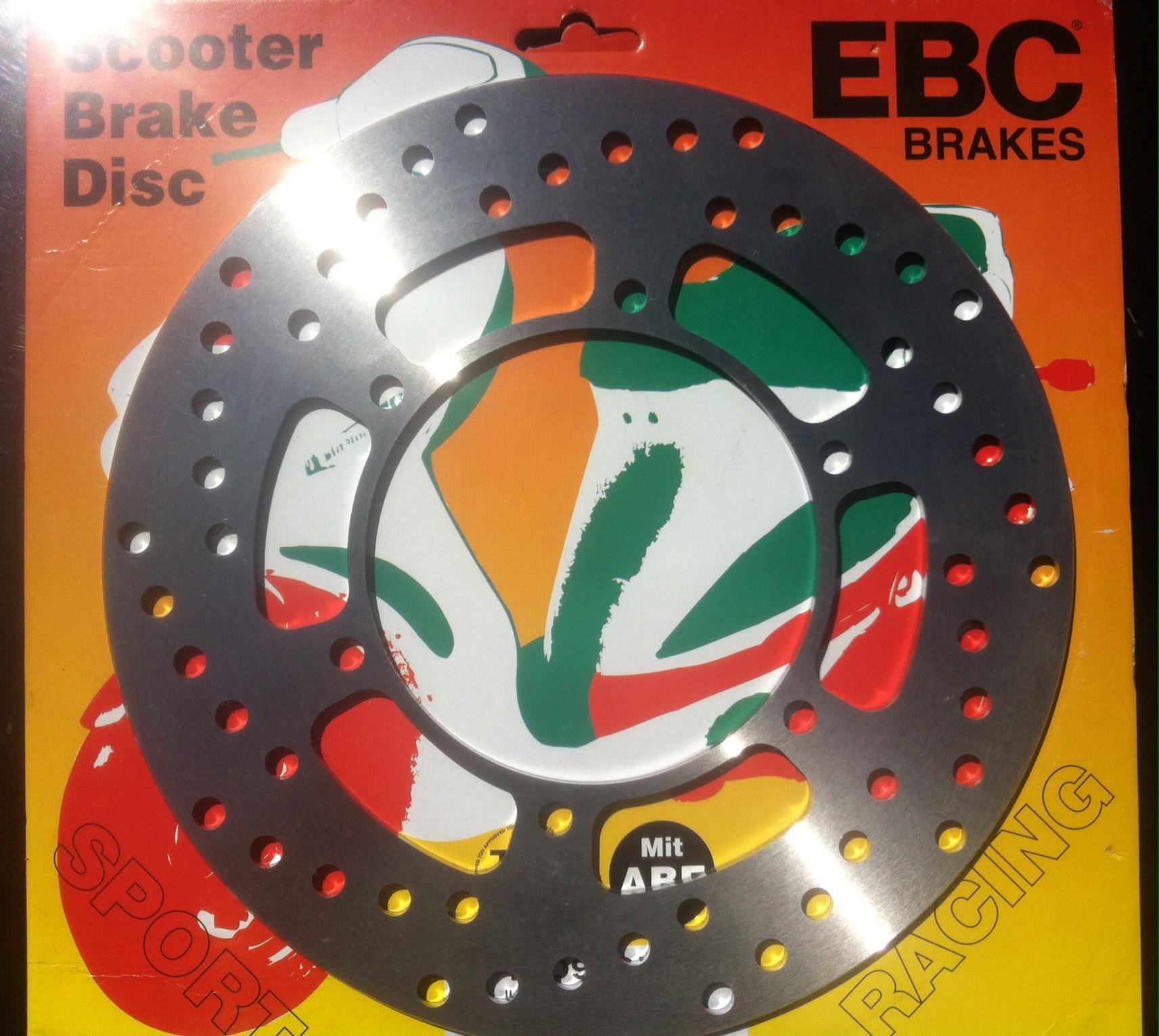 Disc frana fata Yamaha Majesty 250-0