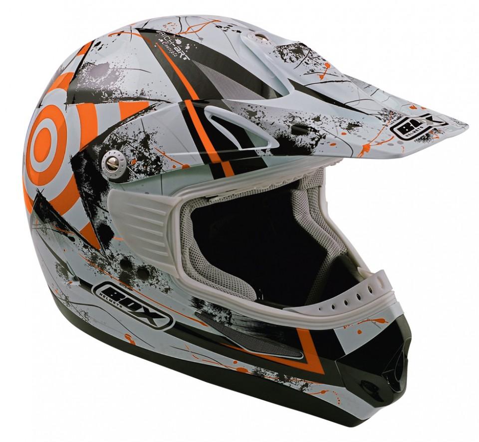 Casca Box MX-5 Target Adult Orange-0