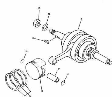 Set segmenti ATV Linhai 300cc 4x4 22506A-0