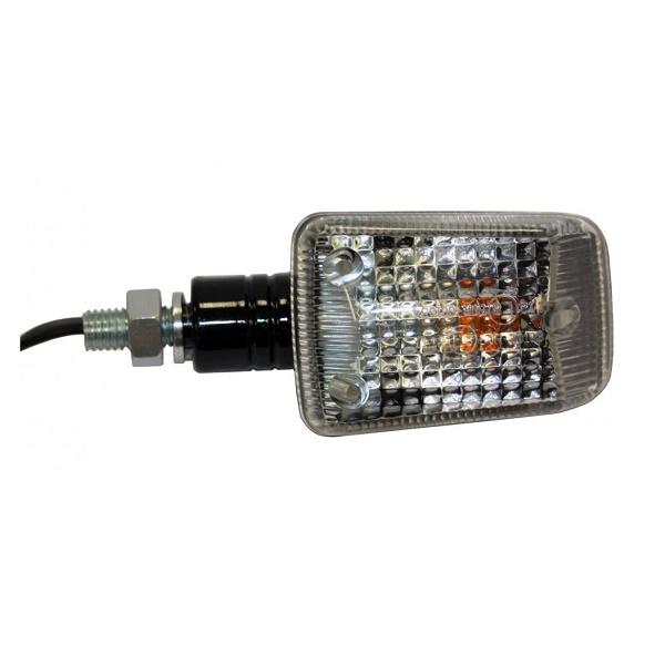 SET SEMNALIZATOARE LED (CE) – RECTANGULARE, BRAT SCURT, NEGRE