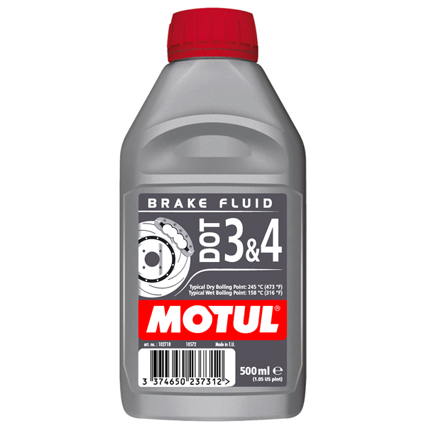 Ulei Motul BRAKE FLUID DOT 3 & 4 – 0.5L